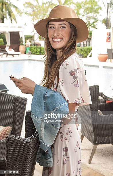Daughter of 'The Boss' Bruce Springsteen Jessica Rae Springsteen at International Polo Club Palm Beach on January 16 2017 in Wellington Florida