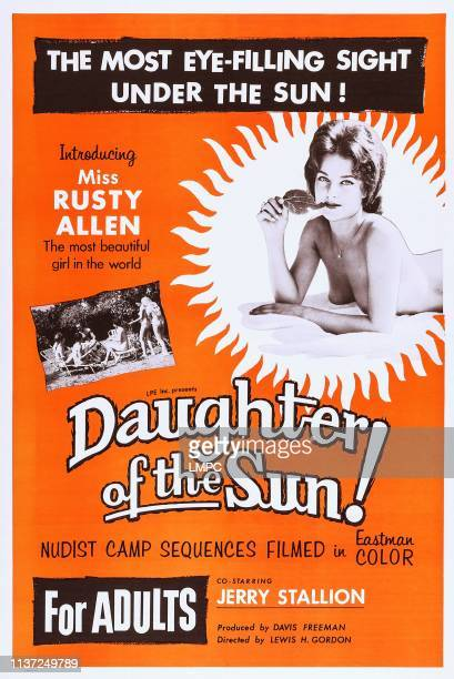 Daughter Of The Sun poster US poster art Rusty Allen 1962