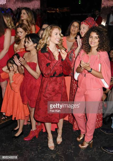 Daughter of Veronique Mounier Veronique Mounier Margaux de Frouville Saida Jawad Cyrielle Hariel Lisa Lovatt Smith and Anne Valerie Payet attend the...