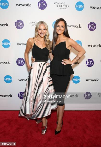 Daughters Jackie Miranne and Christie Miranne attend as inventor and entrepreneur Joy Mangano celebrates the release of her first book INVENTING JOY...