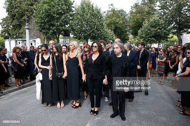 daughters of Nathalie Tatiana Burstein Salome Burstein Lola Burstein daughter of Sonia Nathalie Rykiel and her brother son of Sonia JeanPhilippe...