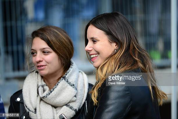 Daughters of Troyes president Daniel Masoni during the French Ligue 1 match between ESTAC Troyes and Paris SaintGermain at Stade de l'Aube on March...