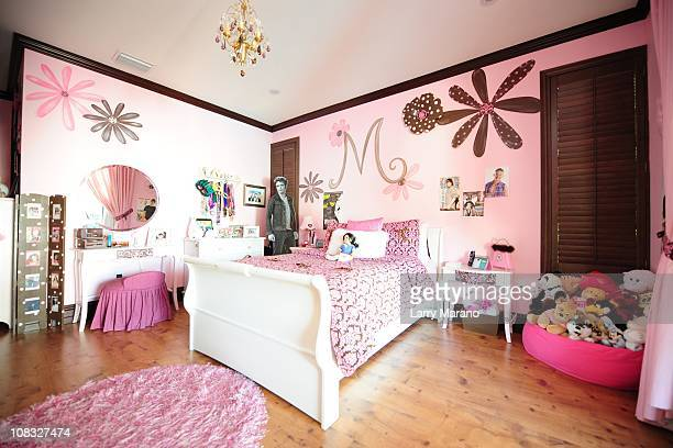 Daughters room at Jon Secada's home on January 13 2011 in Coral Gables Florida