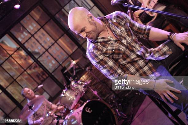 Daughtry appears on the TV show PRIVATE SESSIONS on July 19 2009 in New York City