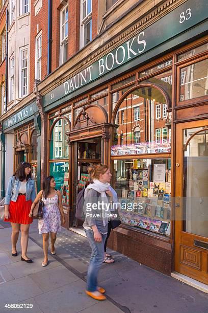 Daunt Bookstore in Marylebone High Street