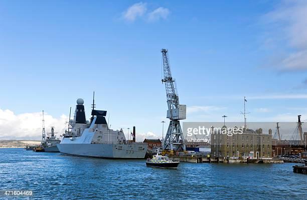 HMS Dauntless Ramakrishana でポーツマス