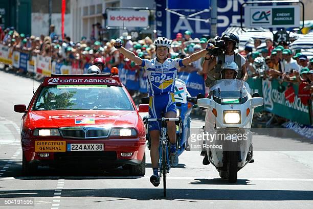 Dauphiné Libéré stage 3 Nicolas Portal AG2R wins the stage