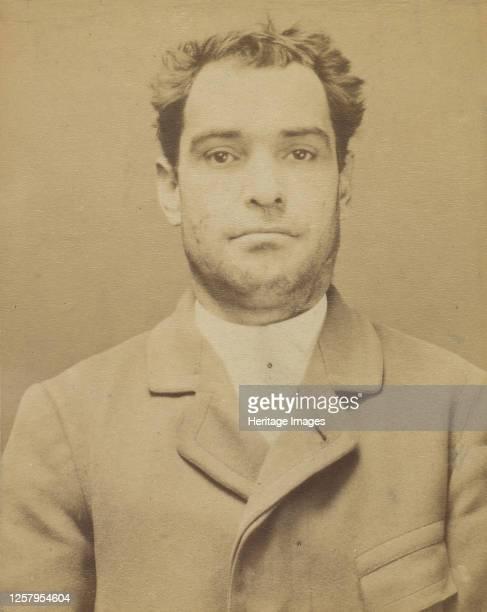 Dauriac. Henri, Georges. 36 ans, n� � Memphis . Agent d'affaires. Extortion de fonds. 22/12/94, 1894. Artist Alphonse Bertillon.