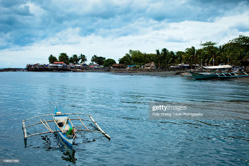 Davao waterfront : Stock Photo