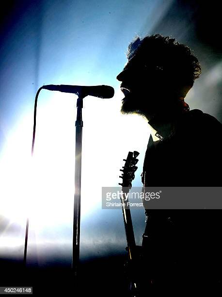 Dave 1 of Chromeo performs on day 1 of the Parklife Weekender Festival at Heaton Park on June 7 2014 in Manchester England