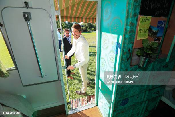 Dave Abrams is seen before his wedding to Jennie Garth at a private residence July 11 2015 in Santa Ynez California