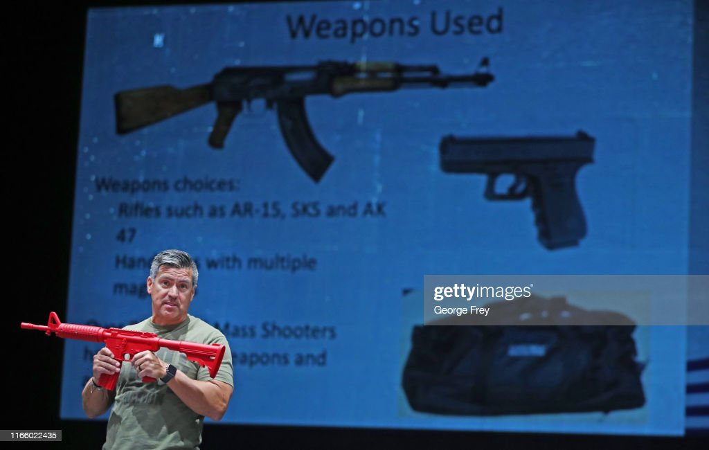Utah School Teachers Undergo Active Shooter Training Ahead Of Start Of School Year : News Photo
