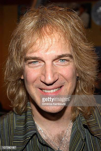 Dave Amato during VH1 Classic Celebrates New Studio with Members of Journey Styx and REO Speedwagon at VH1 Classic Studios Downtown in New York City...