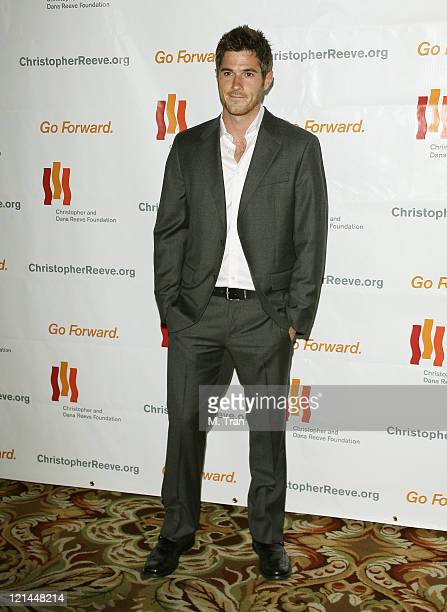 Dave Annable during 3rd Annual Los Angeles Gala for the Christopher and Dana Reeve Foundation at Century Plaza Hotel in Century City, California,...