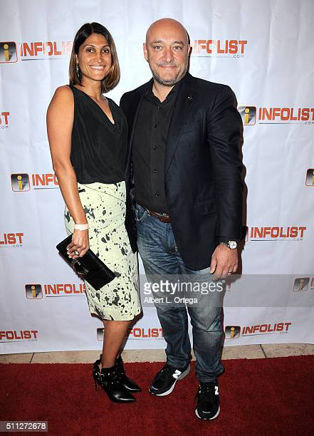 Dave Anthony of 'Call Of Duty' and guest at the InfoList PreOscar Soiree And Birthday Party for Jeff Gund held at OHM Nightclub on February 18 2016...