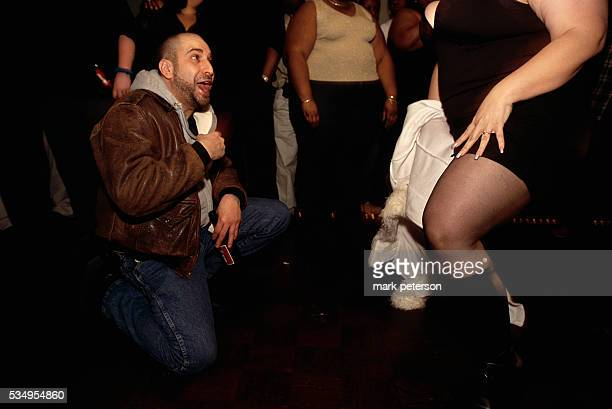 Dave Attell at the Goddesses Party a party for big beautiful men and women and their admirers in NYC NY