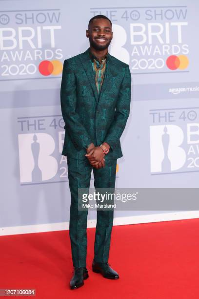 Dave attends The BRIT Awards 2020 at The O2 Arena on February 18 2020 in London England
