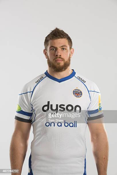Dave Attwood of Bath poses for a picture during the photocall for BT Sport at Farleigh House on January 20 2015 in Bath England