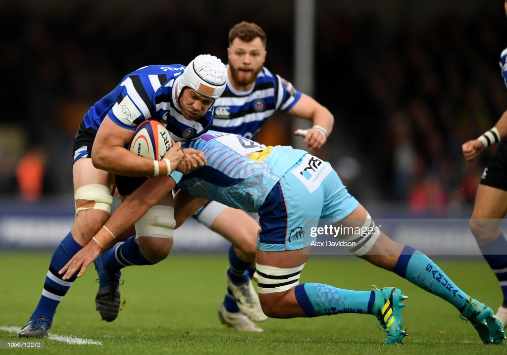 GBR: Exeter Chiefs v Bath Rugby - Premiership Rugby Cup