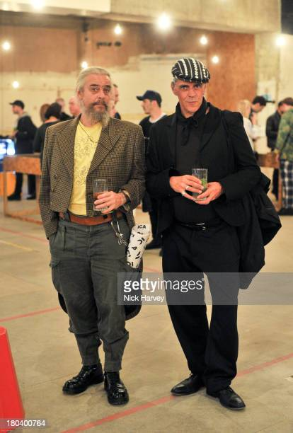 Dave Baby and Judy Blain attend ICA OffSite at the Old Selfridges Hotel on September 12 2013 in London England
