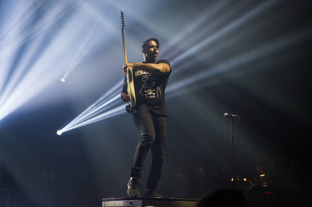 FRA: Sum 41 Performs At le Zenith