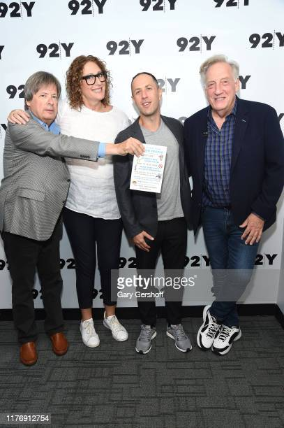 Dave Barry Judy Gold Adam Mansbach and Alan Zweibel attend In Conversation with Judy Gold A Field Guide to the Jewish People at 92nd Street Y on...