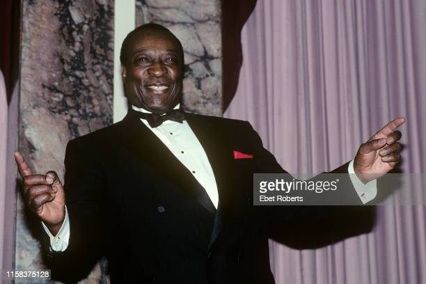 Dave Bartholomew at the 1991 Rock and Roll Hall of Fame induction ceremony at the Waldorf Astoria Hotel in New York City on January 16, 1991.