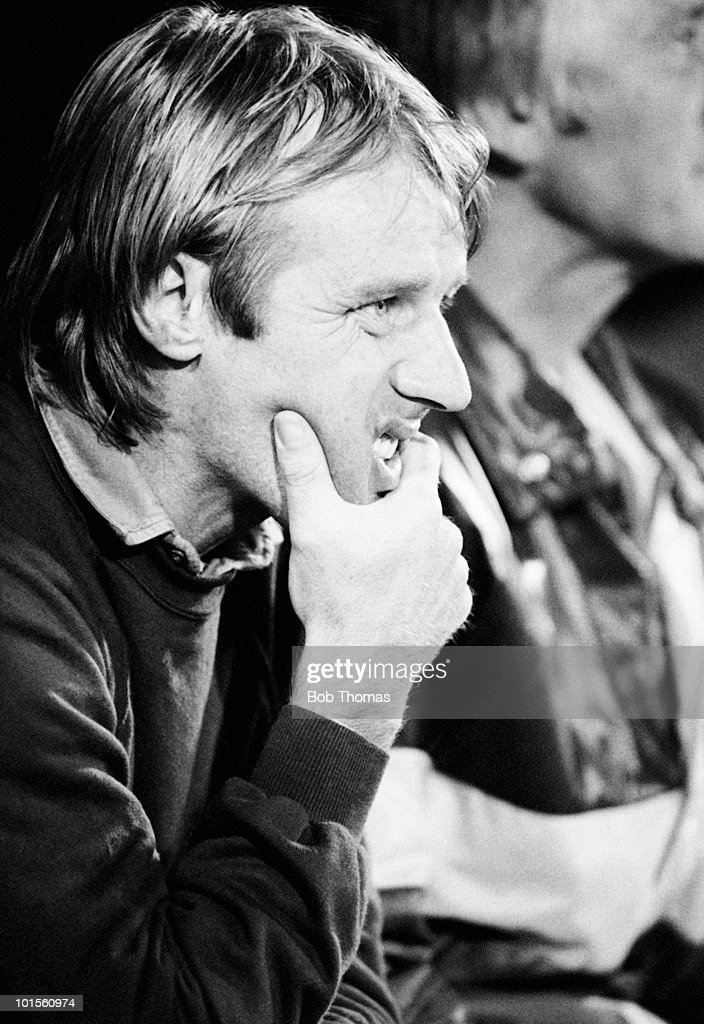 Dave Bassett, manager of Wimbledon, during a Division One football match against Charlton Athletic held at The Valley in London on 2nd September 1986. Wimbledon beat Charlton Athletic 1-0. (Bob Thomas/Getty Images).