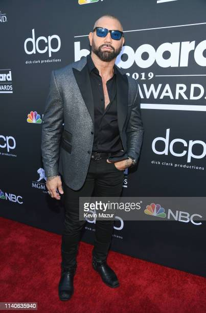 Dave Bautista attends the 2019 Billboard Music Awards at MGM Grand Garden Arena on May 1 2019 in Las Vegas Nevada