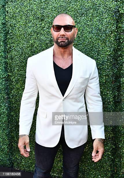 Dave Bautista attends the 2019 MTV Movie and TV Awards at Barker Hangar on June 15 2019 in Santa Monica California