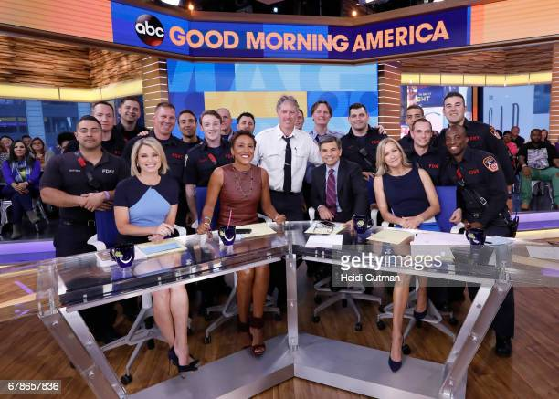 AMERICA Dave Bautista is a guest on 'Good Morning America' Thursday May 4 2017 airing on the ABC Television Network AMY