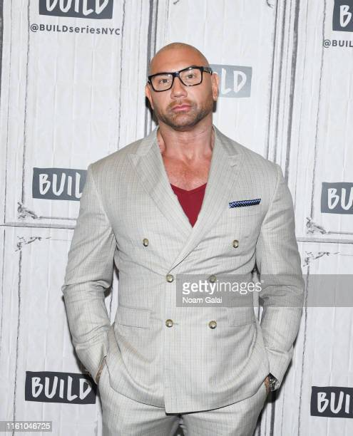 Dave Bautista visits Build Series to discuss 'Stuber' at Build Studio on July 08 2019 in New York City