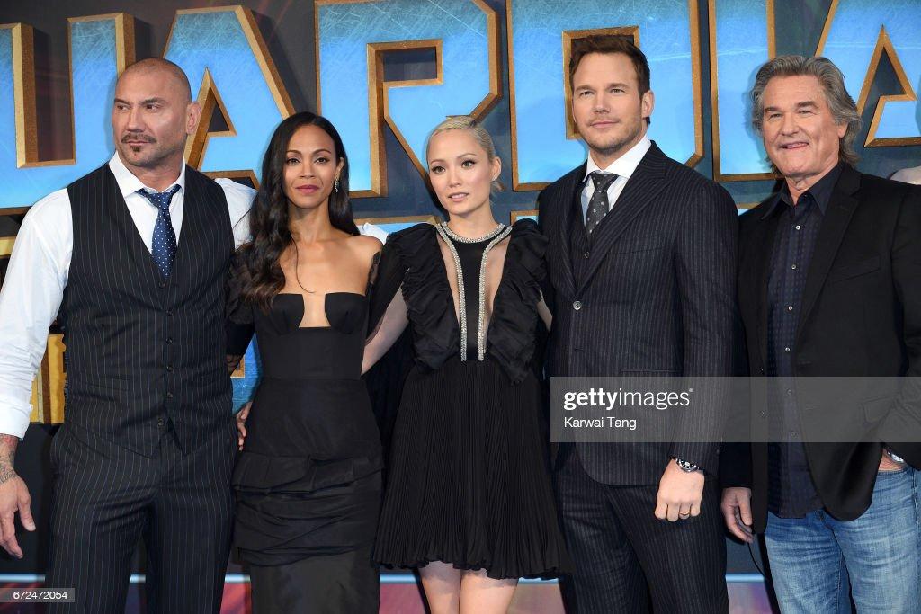 """Guardians of the Galaxy Vol. 2"" - European Gala Screening : News Photo"