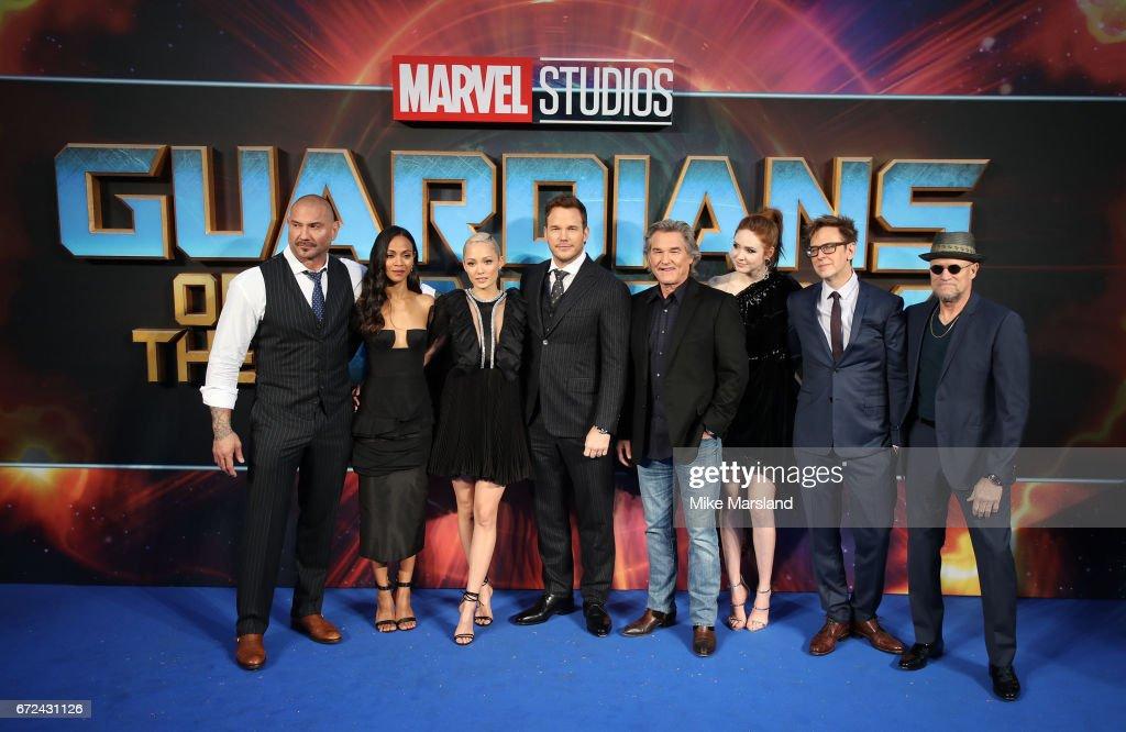 """Guardians of the Galaxy Vol. 2"" - European Gala Screening - Arrivals : News Photo"