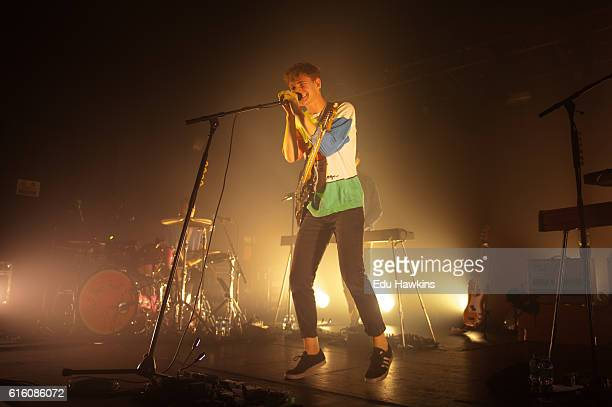 Dave Bayley of Glass Animals performs at O2 Academy Oxford on October 21 2016 in Oxford England
