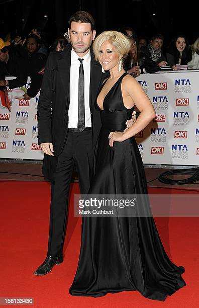 Dave Berry And Heidi Range Arriving For The National Television Awards 2010 At The 02 Arena London