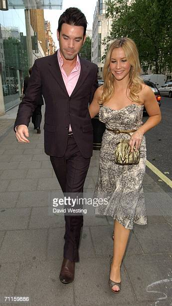 Dave Berry and Heidi Range attend The Arena Magazine Awards at Benares Bar and Restaurant on June 8 2006 in London England