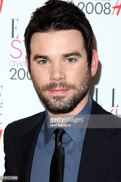 Dave Berry arrives at the Elle Style Awards 2008 at The Westway on February 12 2008 in London England