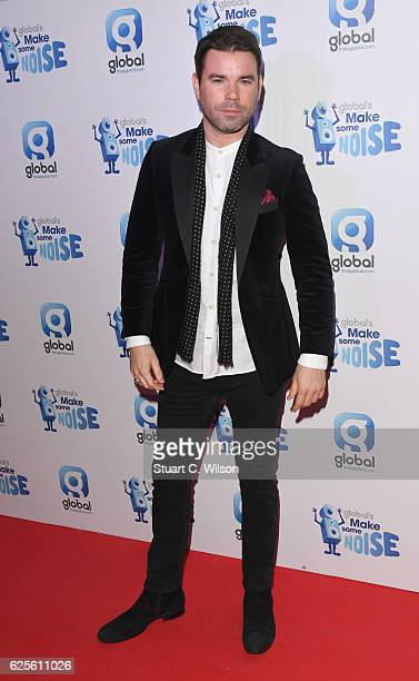 Dave Berry attends the Global's Make Some Noise Night Gala at Supernova on November 24 2016 in London England
