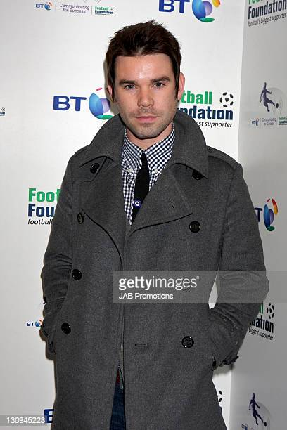 Dave Berry attends the launch party of BT Football Foundation at BT Tower on October 21 2008 in London England