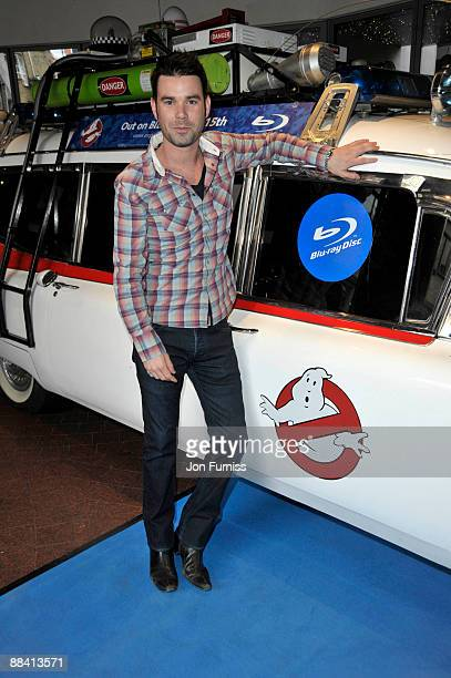 Dave Berry attends the VIP screening of Ghostbusters at Soho Hotel on June 10 2009 in London England