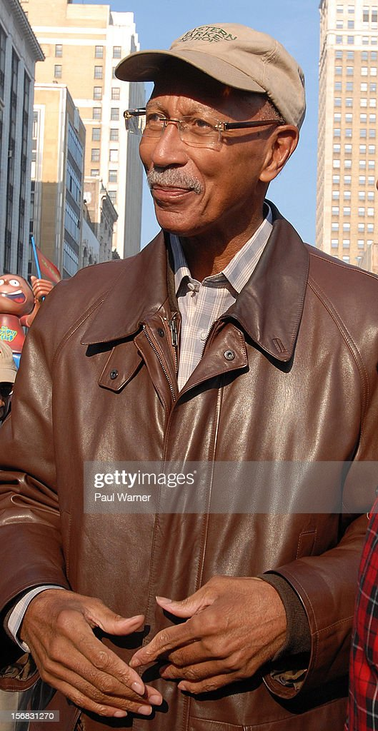 Dave Bing ,Mayor of Detroit, attends America's Thanksgiving Day Parade at Woodward Avenue on November 22, 2012 in Detroit, Michigan.