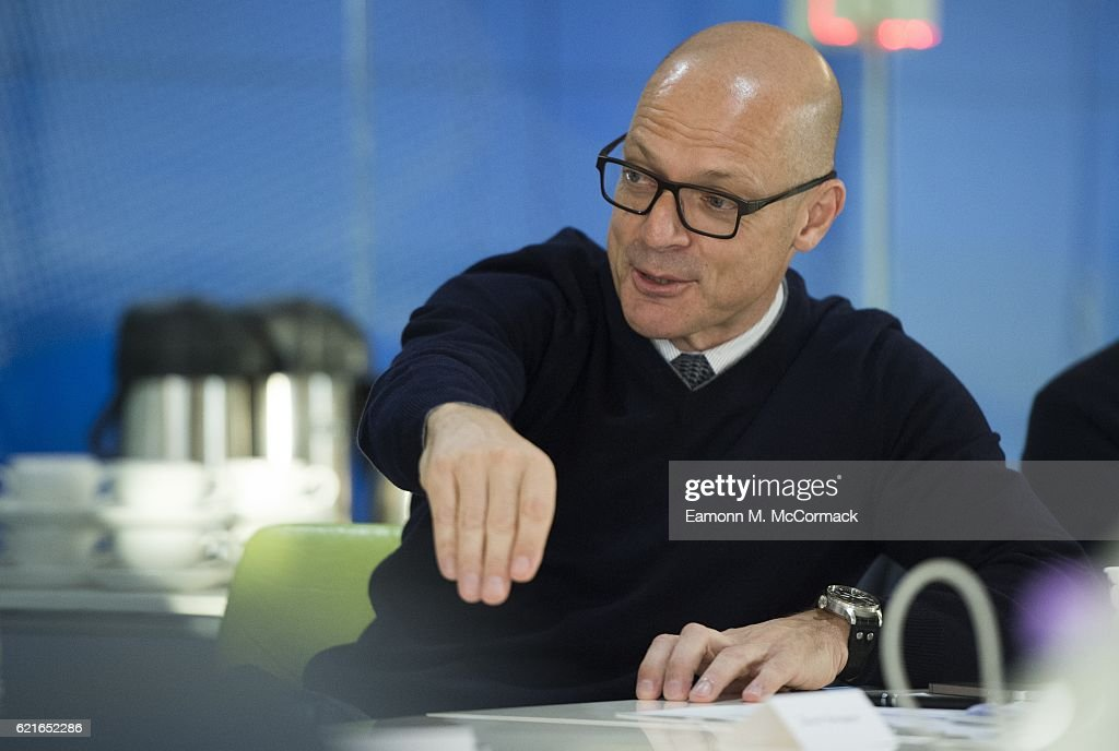 Dave Brailsford, General Manager Team SKY during the Leaders P8 Summit at the National Tennis Centre on November 7, 2016 in London, England.