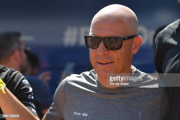 Dave Brailsford of Great Britain Team Manager of Team Sky / during the 105th Tour de France 2018 Stage 9 a 1565 stage from Arras Citadelle to Roubaix...