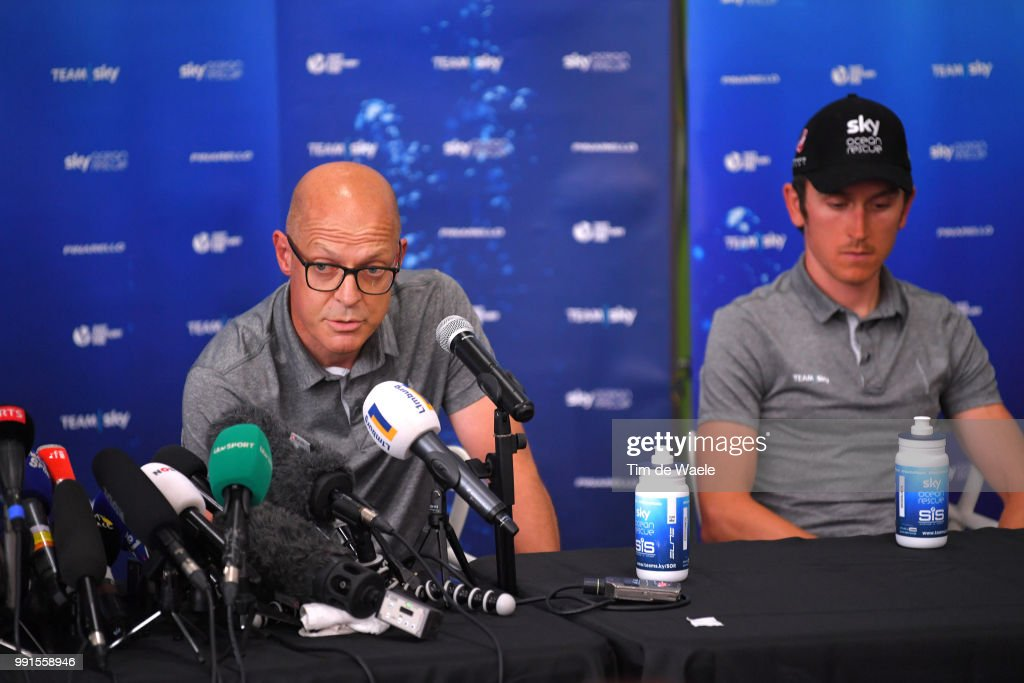 Cycling: 105th Tour de France 2018 / PC Team SKY : ニュース写真