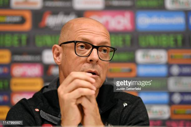 Dave Brailsford of United Kingdom Team Manager of Team INEOS / during the 102nd Giro d'Italia 2019 - Team INEOS Press Conference / Tour of Italy /...