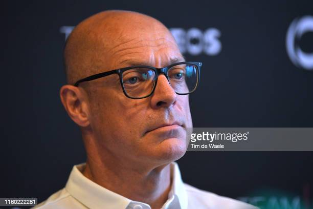 Dave Brailsford of United Kingdom Team Manager of Team INEOS / during the 106th Tour de France 2019 - Team INEOS Press Conference / TDF / #TDF2019 /...
