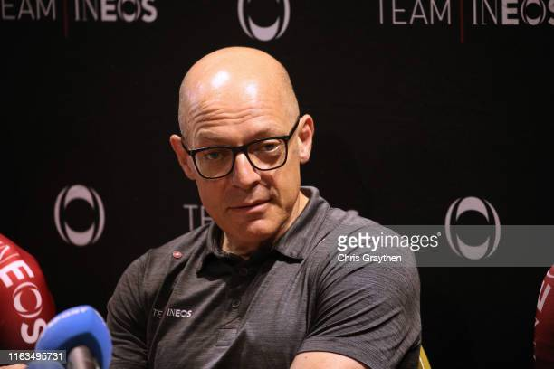 Dave Brailsford of United Kingdom Team Manager of Team INEOS / during the 106th Tour de France 2019 - Team INEOS - Press Conference / Rest Day / TDF...