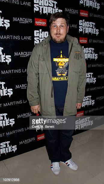 Dave Brown attends the Ghost Stories Press Night Party held on July 14 2010 at the St Martins Lane Hotel in London England