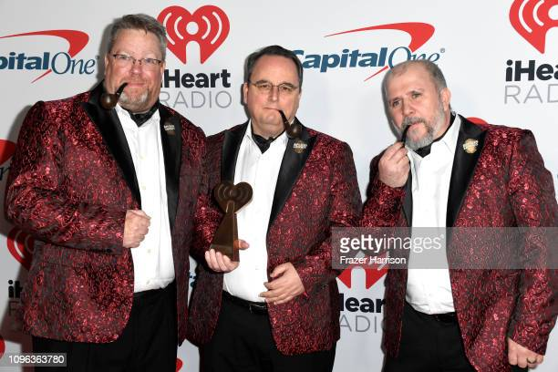 Dave Brown Bob Howell Mike Woods attend the iHeartRadio Podcast Awards Presented By Capital One at iHeartRadio Theater on January 18 2019 in Burbank...